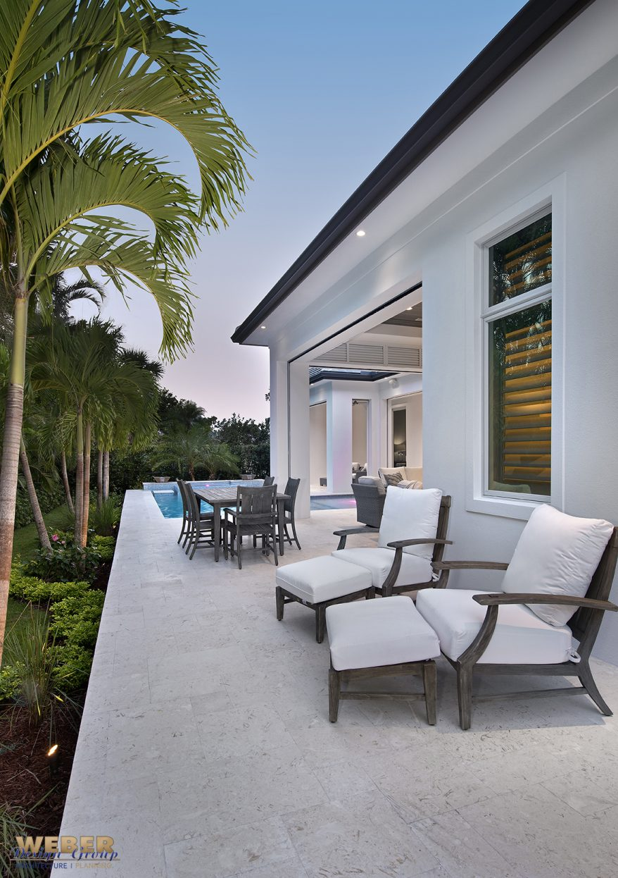 Transitional West In s Home The Neapolitan Weber Design Group Inc Naples Florida
