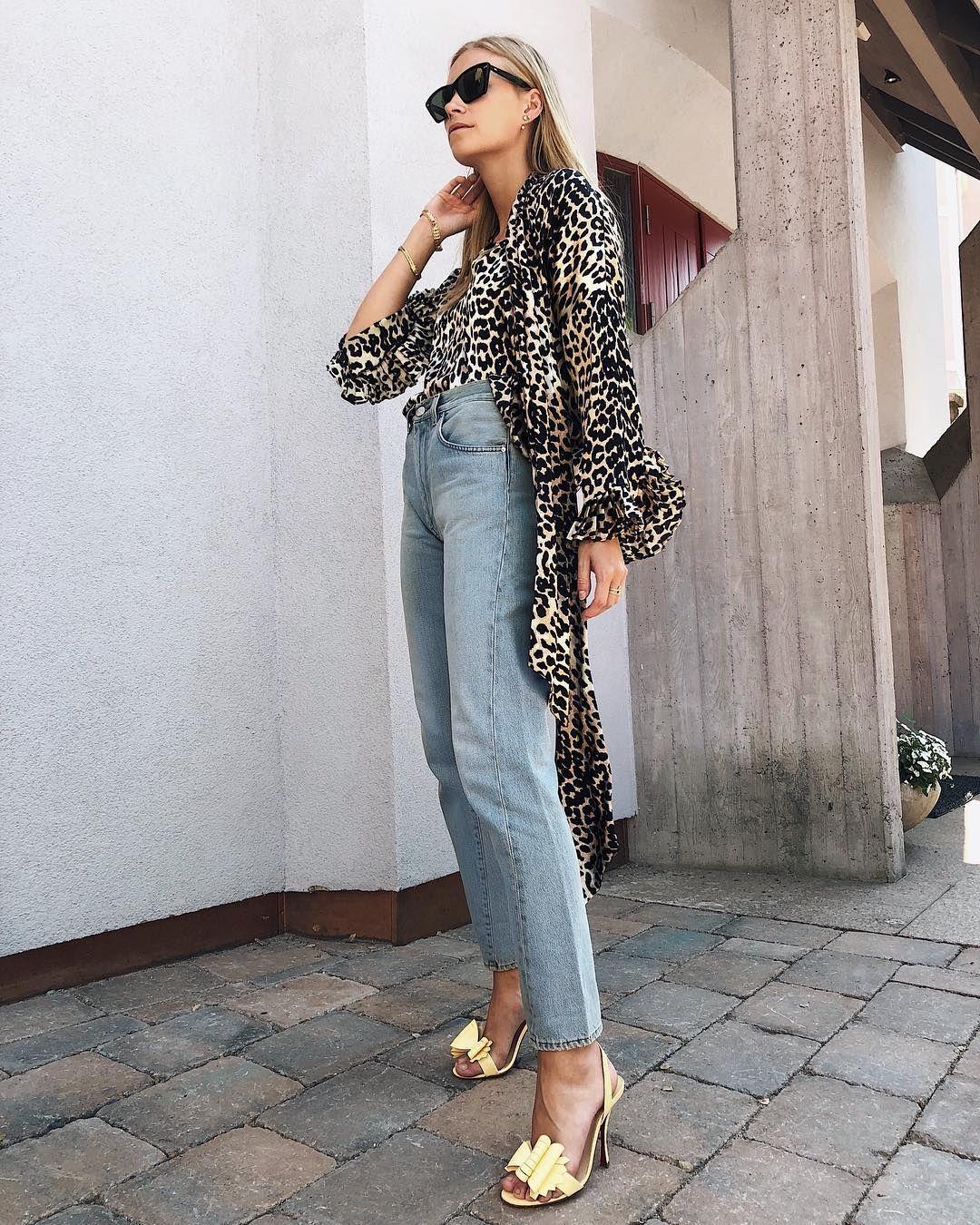 9a846705 Ganni street style | Hanna Stefansson | Calla Silk Wrap Dress ...