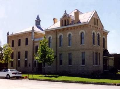 Former Clay county jail in Henrietta Texas now a museum-116