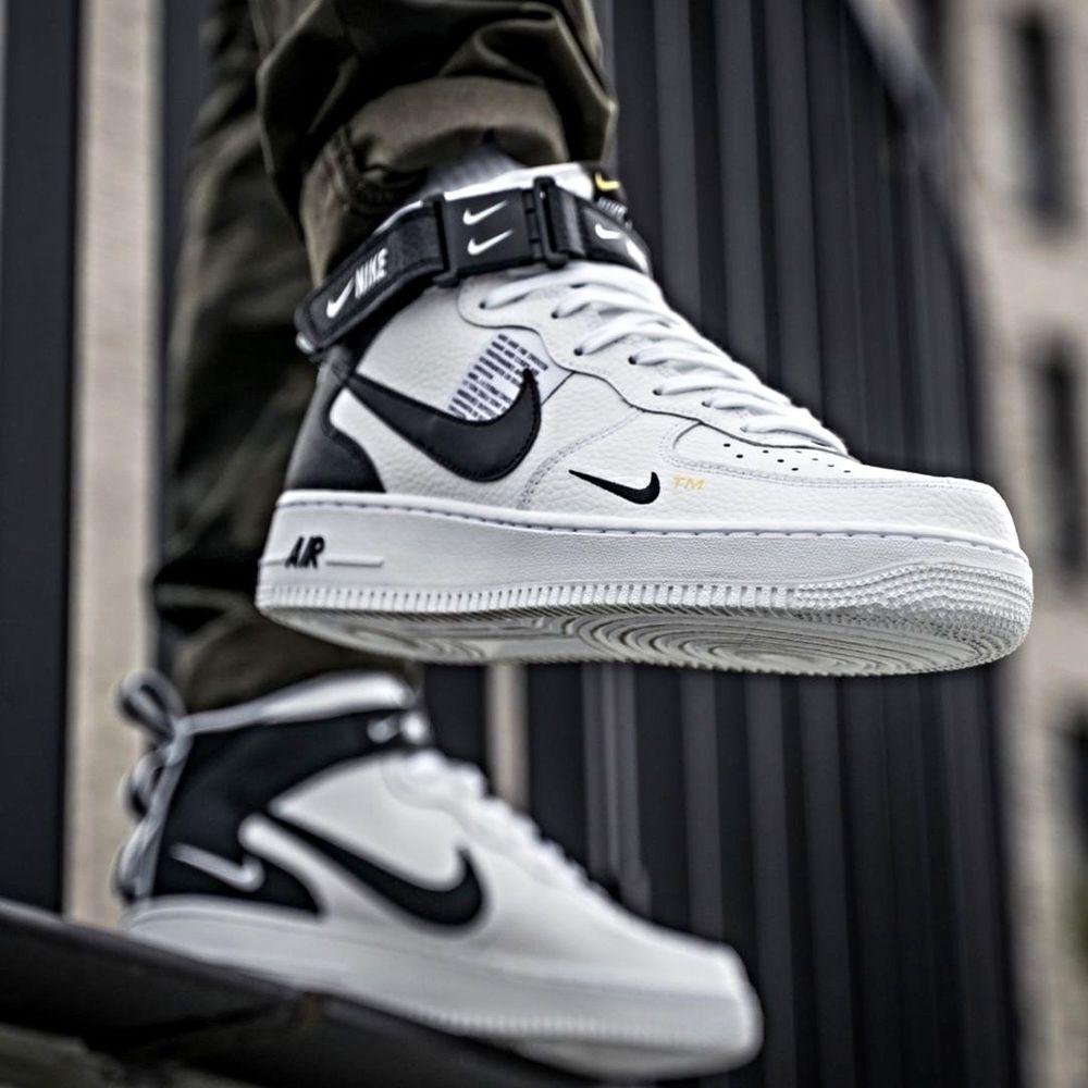 Nike Air Force 1 Mid 07 Lv8 Utility White Sz 7 14 Men Shoes 804609 103 Jordan Sneakerheads Sneakers Sneakerhead Kicks Nike Sneaker Jordan Kick Like4like