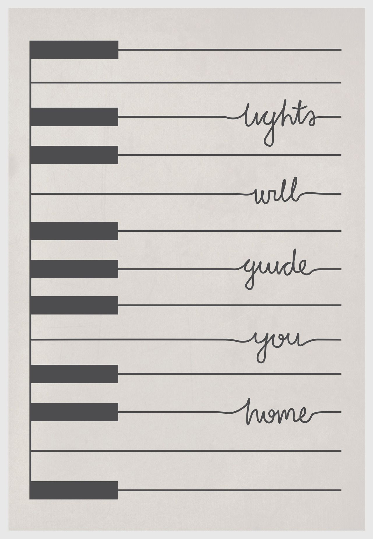 Change this into a few keys and all the words on one line, put that ...