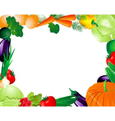 49+ Fruits and vegetables clipart border ideas in 2021