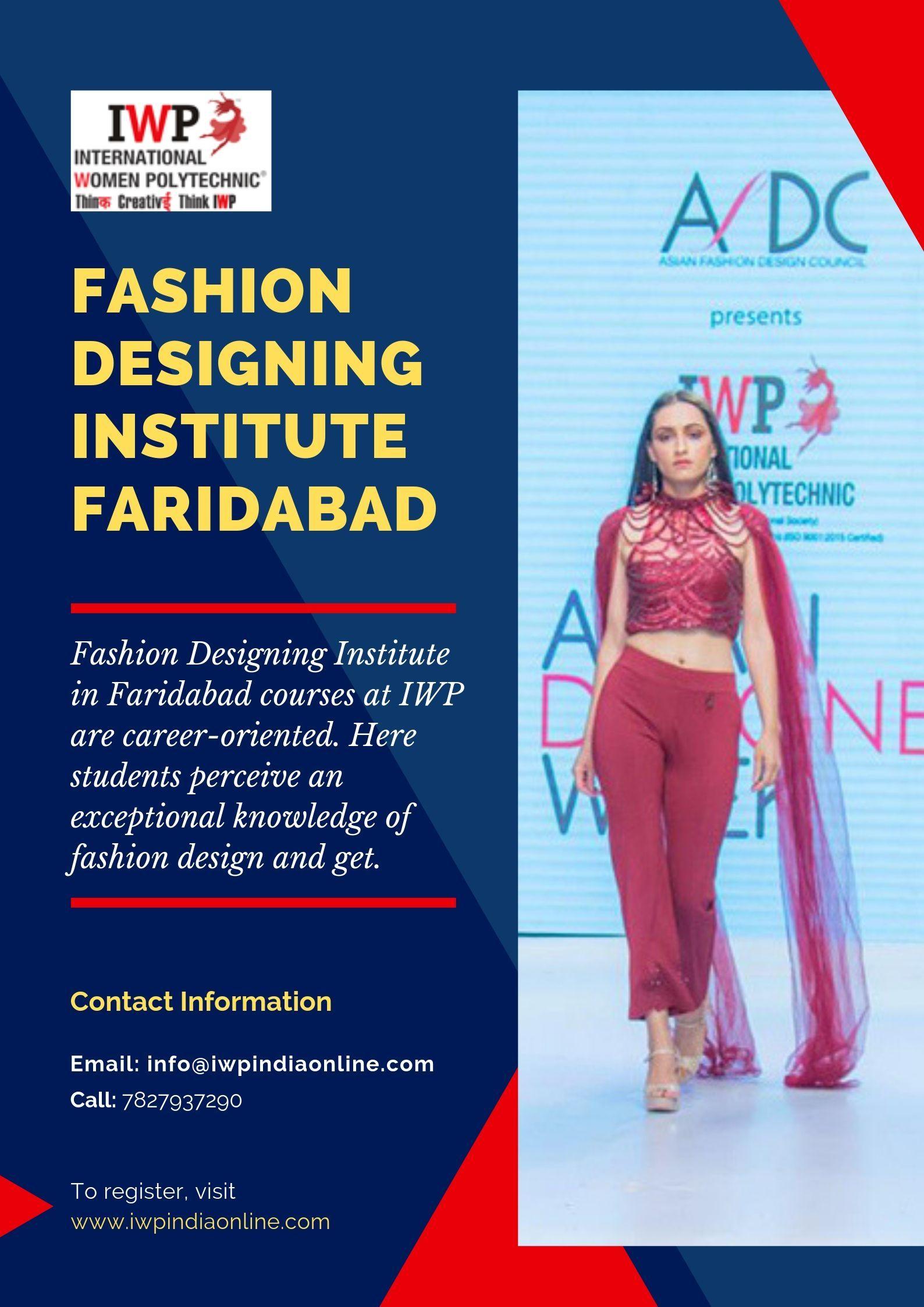 Fashion Designing Institute Faridabad Fashion Designing Institute Fashion Designing Colleges Career In Fashion Designing
