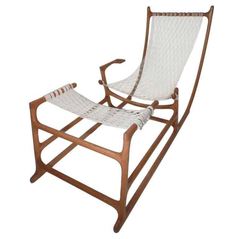 Craft Hammock Chair by William C. Leete