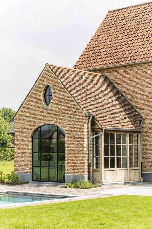 Uitbouw landelijk huis home inspiration in 2019 for Landelijk huis