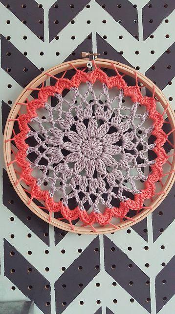 Ravelry: Doily , Mandala pattern by Jessica Lester-Stuart | Crochet ...