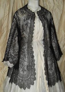 All The Pretty Dresses: 1860's Lace Jacket