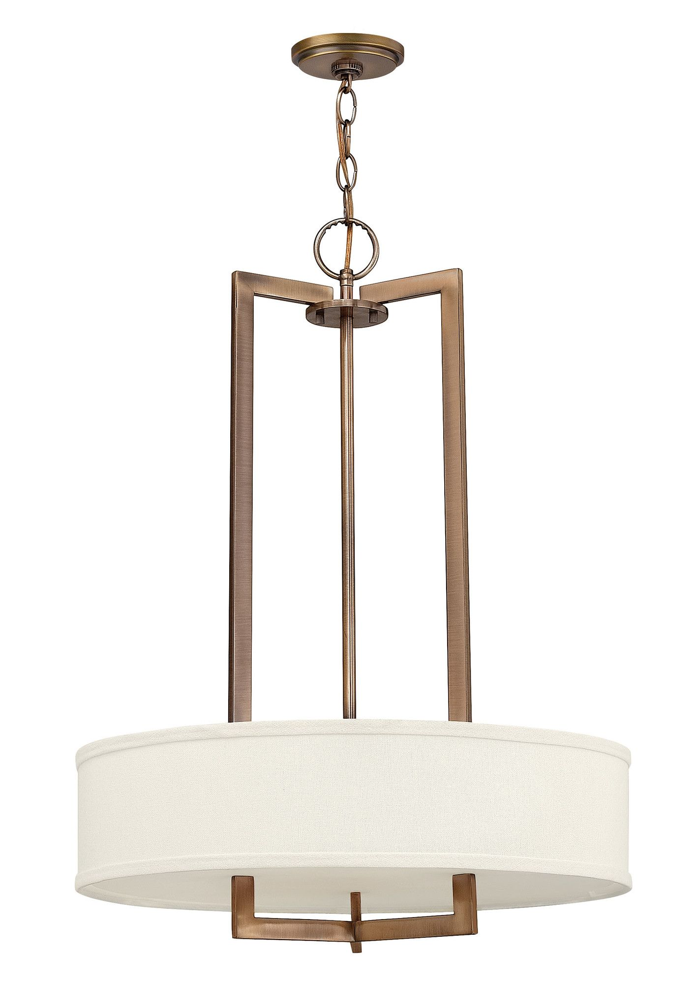 Hinkley Lighting Hampton 3 Light Drum Pendant Reviews Wayfair