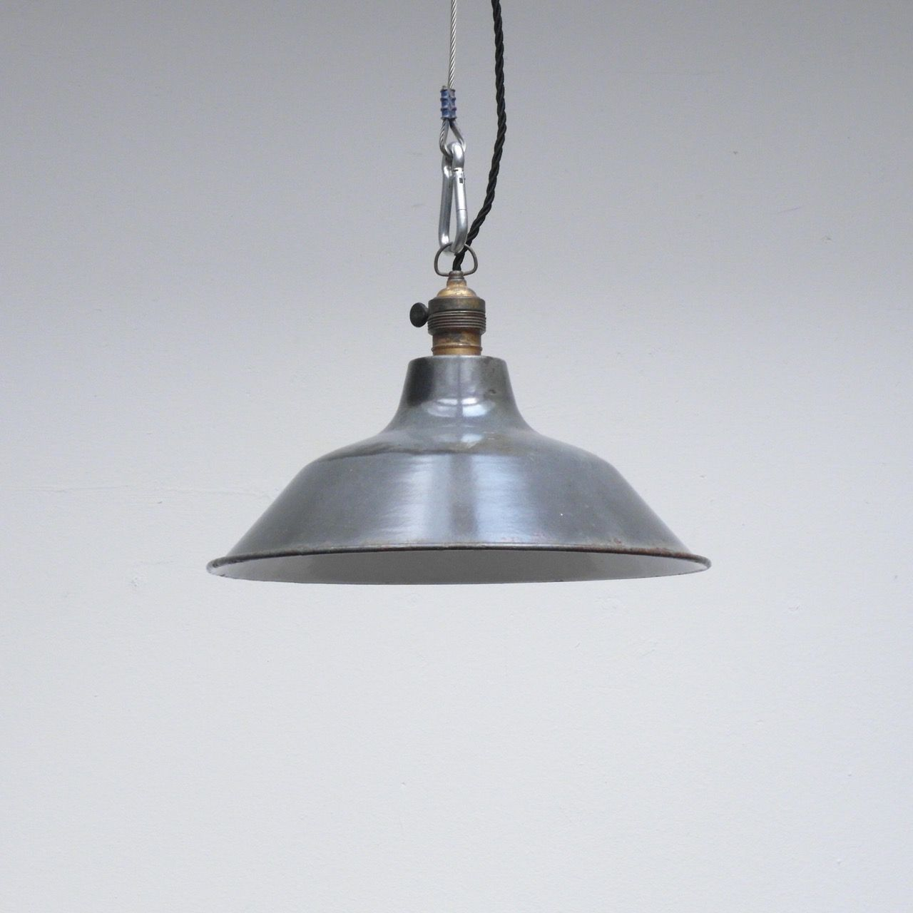 french vintage pendant light patina industrial lights