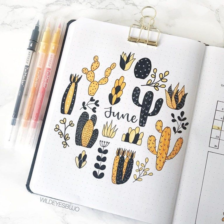 June Bullet Journal Ideas: 30+ Layouts & Spreads To Try – Sidereal Life