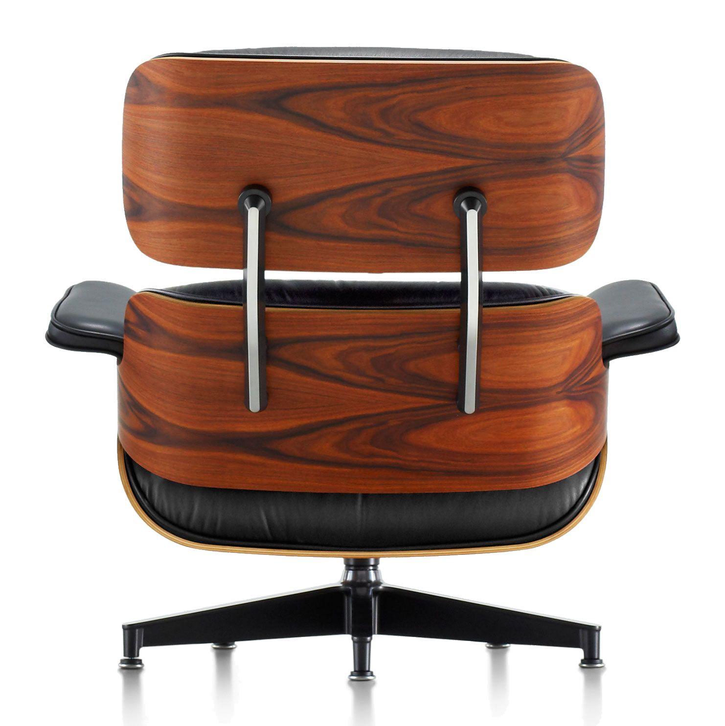 Eames Lounge Chair Sustainably Harvested Santos Palisander Veneer