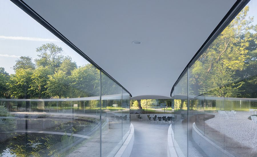 Vijversburg Visitor Center by Junya Ishigami & Associates