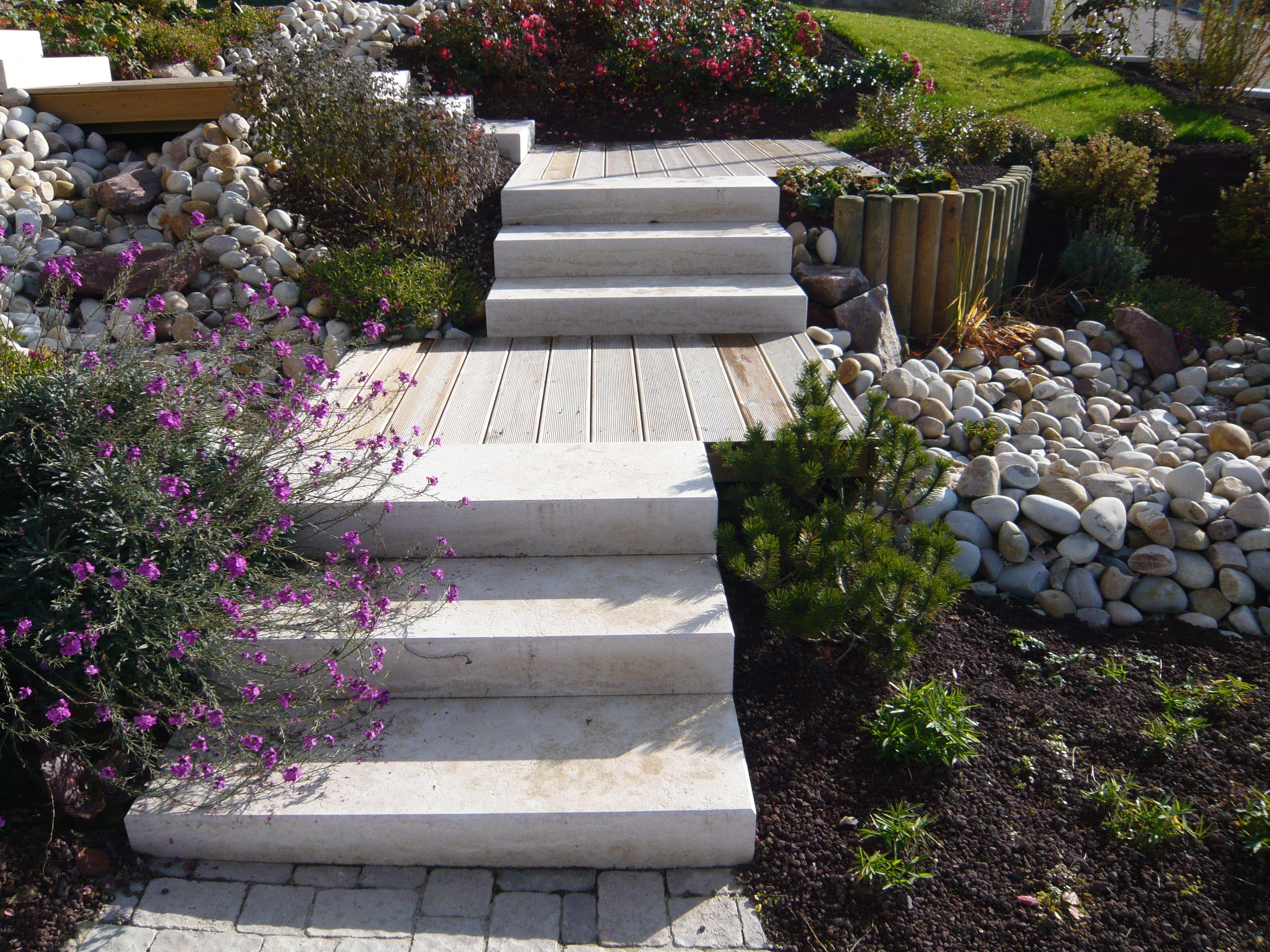 Rebeyrol Createur De Jardins Amenagement De Jardin Limoges Escalier Escalier Exterieur Amena Amenagement Jardin Entretien Jardin Entree De Maison Exterieur