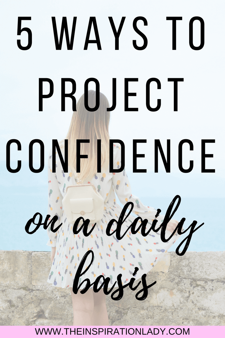 Projecting self confidence
