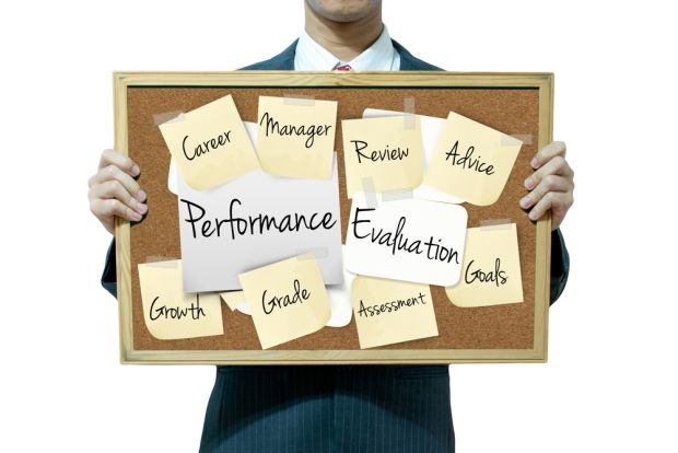 Employee Performance Reviews A Sample Template  For The