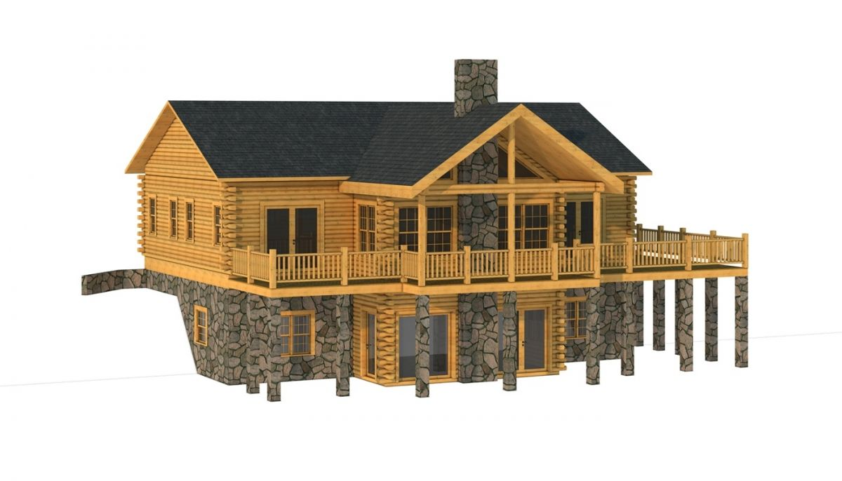 The Hanover From Southland Log Homes Log Homes Log Home Plans