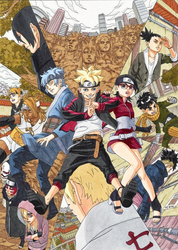"""Shonen Jump"" Looks Ahead To New ""Boruto"" Manga Uzumaki"