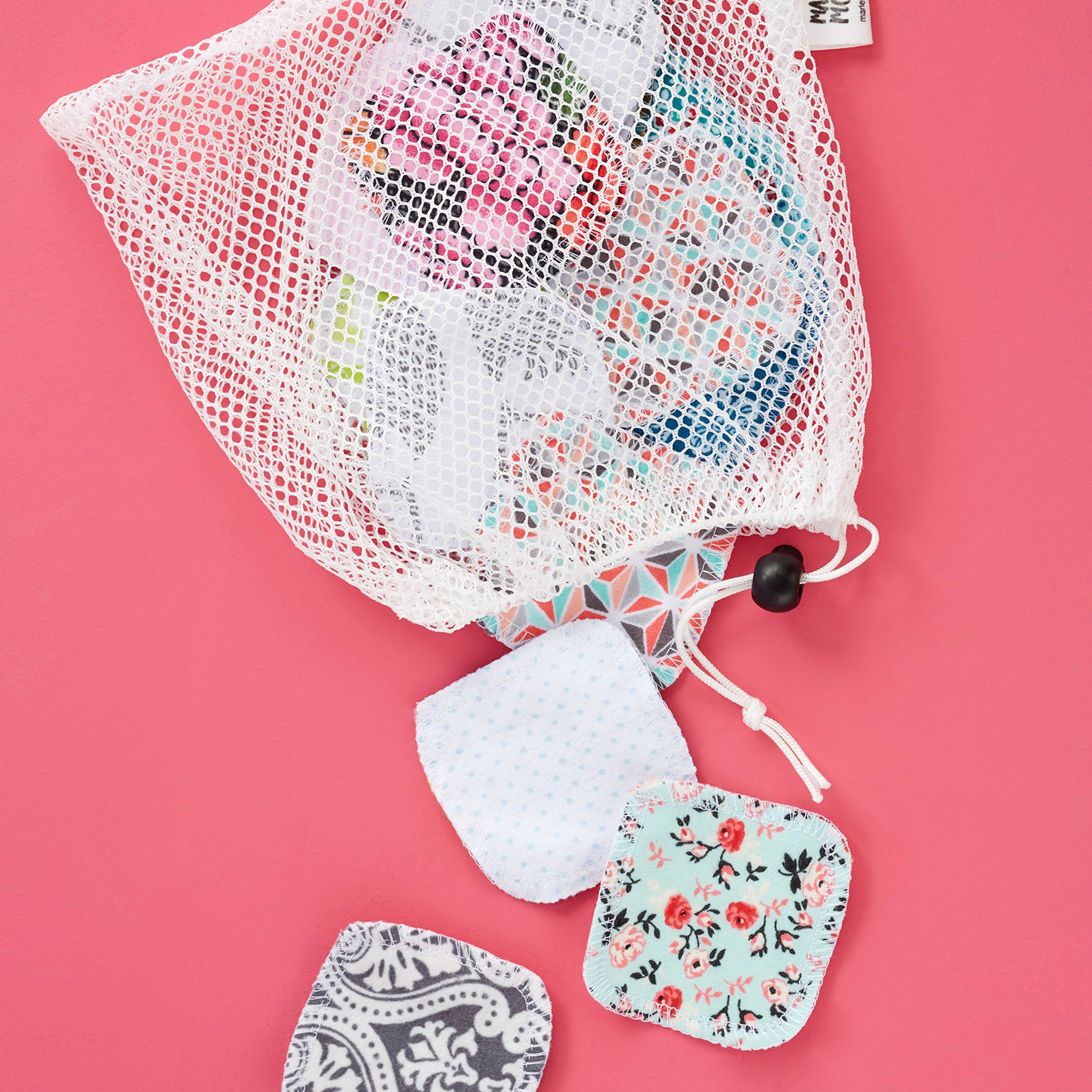 Mesh Laundry Bag Facial Rounds Set Mesh Laundry Bags Mixing