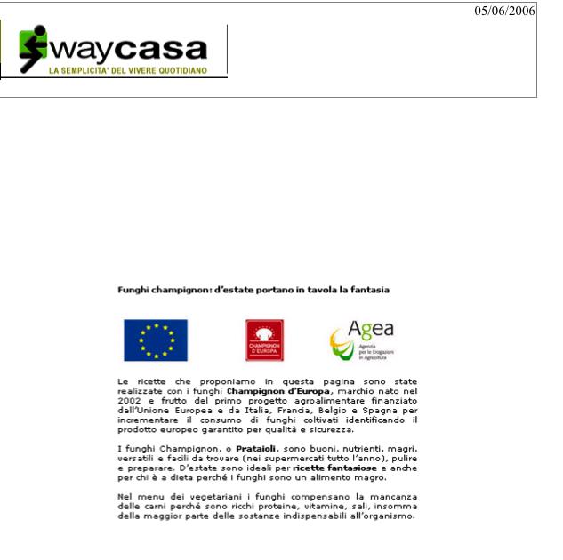 """""""WayCasa"""" Giugno 2006"""