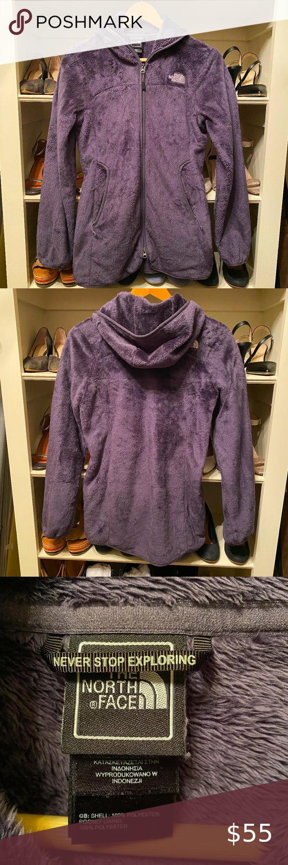North Face Osito Hoodie Full Zip Purple Jacket S Purple Jacket Full Zip Hoodie Jackets [ 1740 x 580 Pixel ]