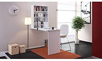 Small bureau rabattable cm blanc transformers