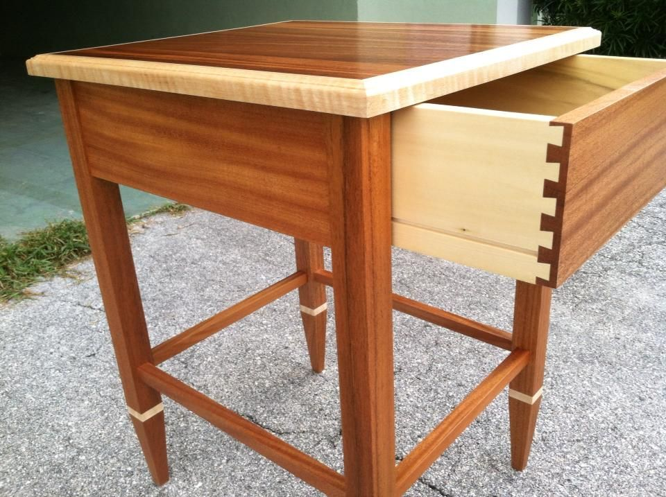 Mahogany End Table