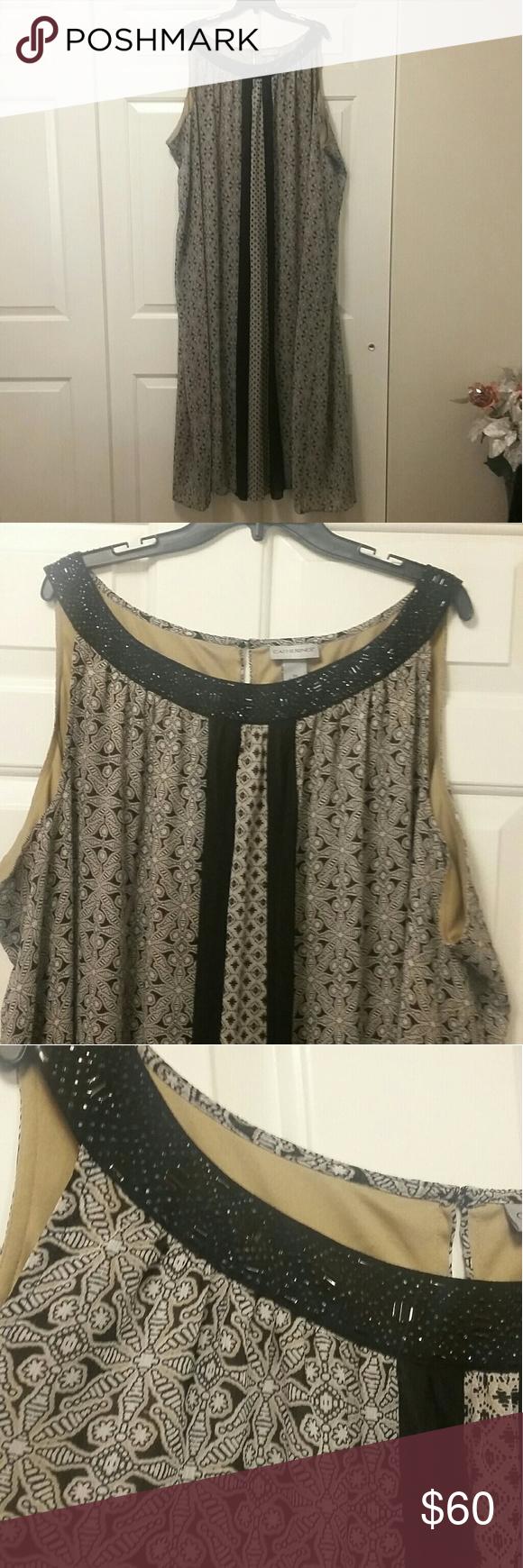 Catherine S Plus Size Jeweled Maxi Dress Size 5x Catherines Plus Size Plus Size Maxi Dresses Maxi Dress [ 1740 x 580 Pixel ]
