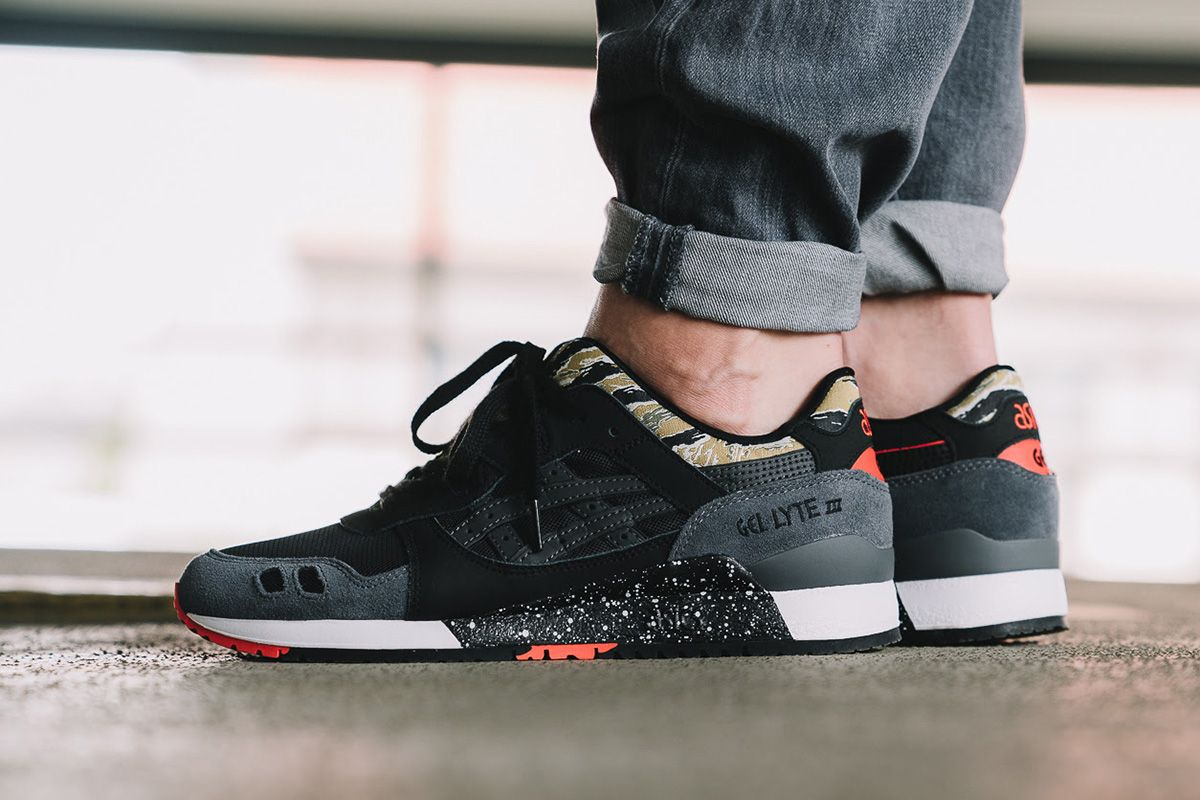 b4f2c8240383 On-Foot  Asics Tiger Gel Lyte III  Camo  Pack - EU Kicks  Sneaker Magazine