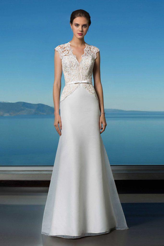 Brautmode Oreasposa | Brautkleid L890 | Kleid hochzeit ...