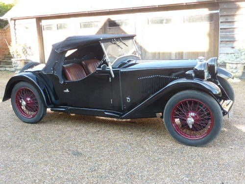 Riley Gamecock Seater With Boot For Sale Veteran