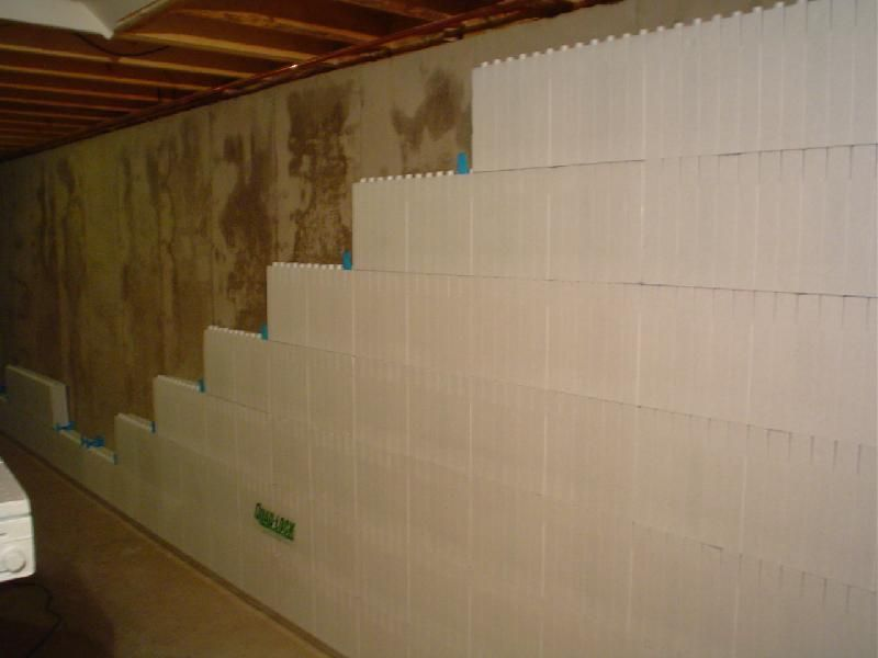Smart ideas to insulate basement wall basement for Basement wall insulation blanket