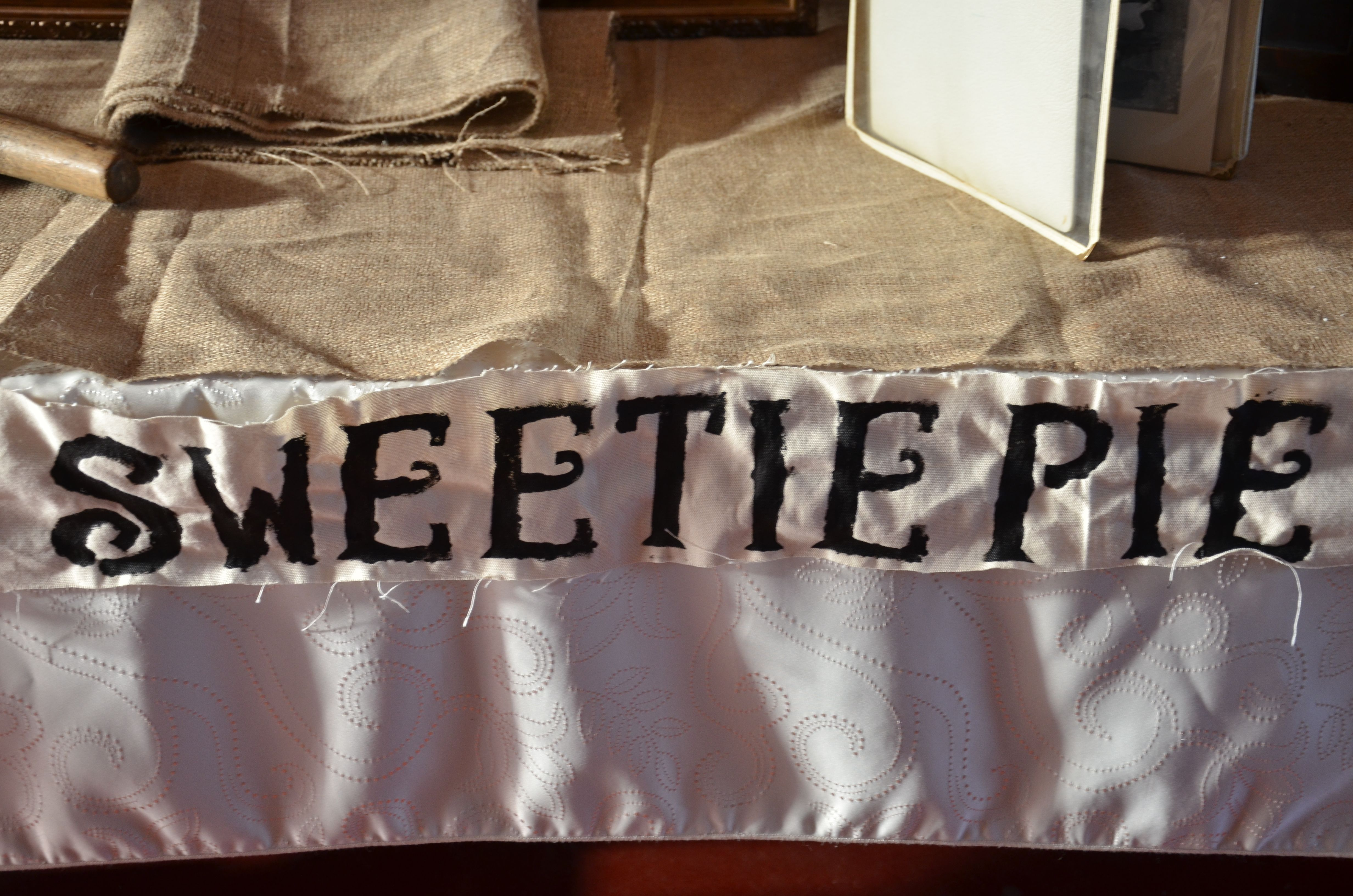 Wedding Banner #DIY