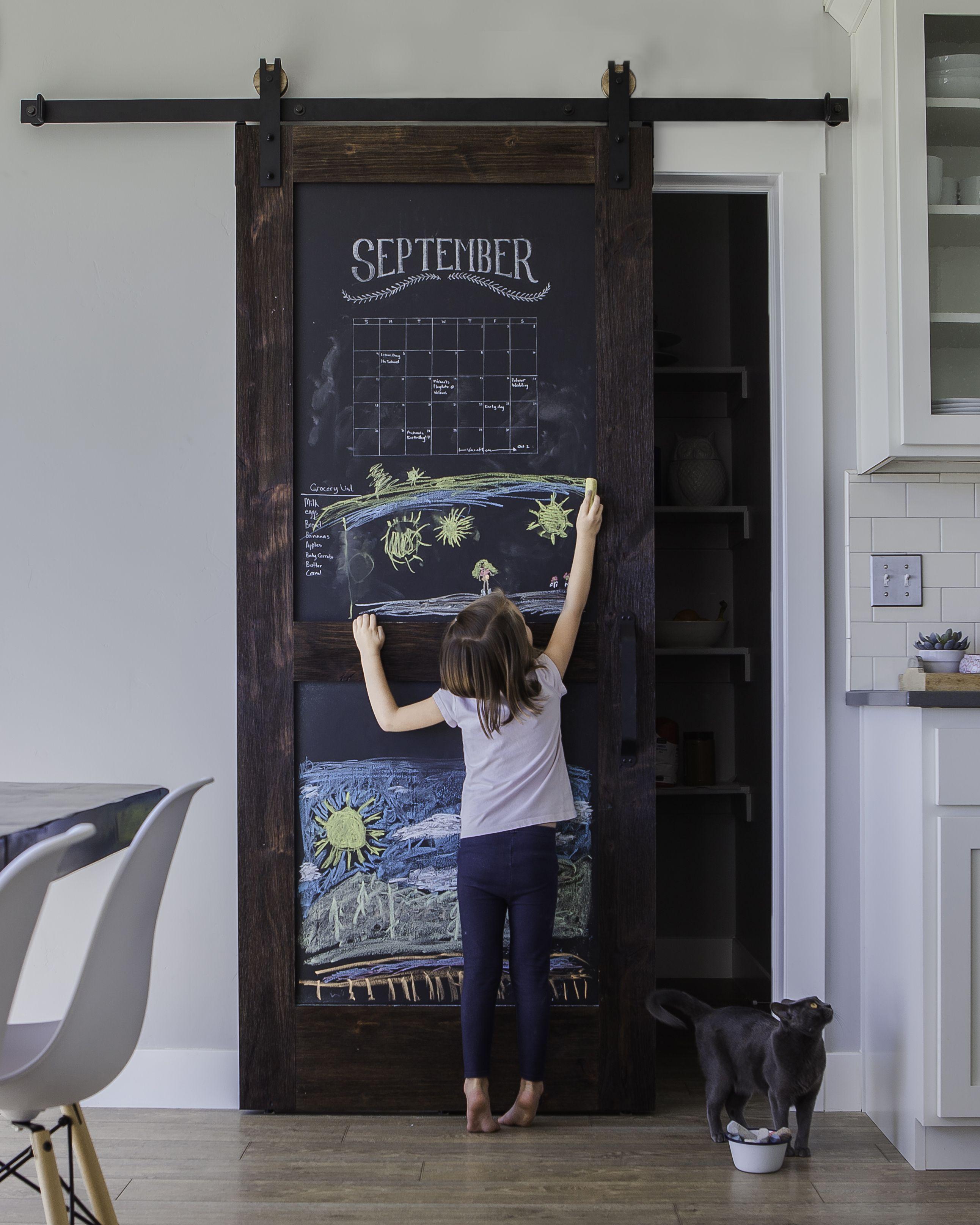 Chalkboard Barn Door & Chalkboard Barn Door | Doors House and Sliding barn doors Pezcame.Com