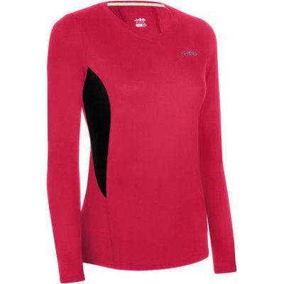 a275bf6117d camisetas deportivas de mujer manga larga   vestidos   Camisetas ...
