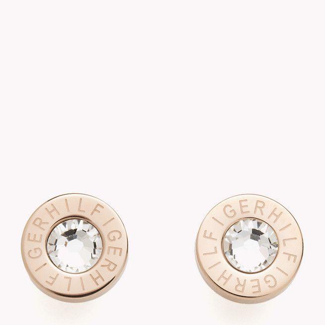 myynti todella mukava alennuksessa Diamonds are girls best friend.. #tommyhilfiger #earrings ...
