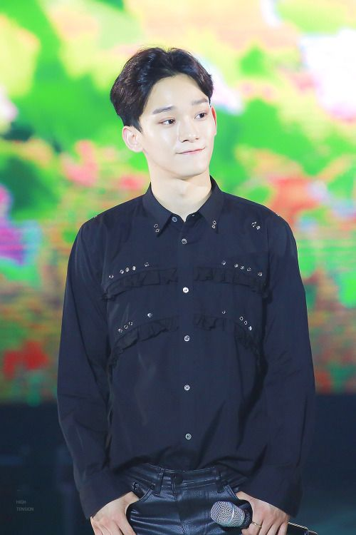 Chen - 170121 Green Nature 2017 EXO Fan Festival Credit: High Tension. (그린네이처 2017 엑소 팬 페스티벌)