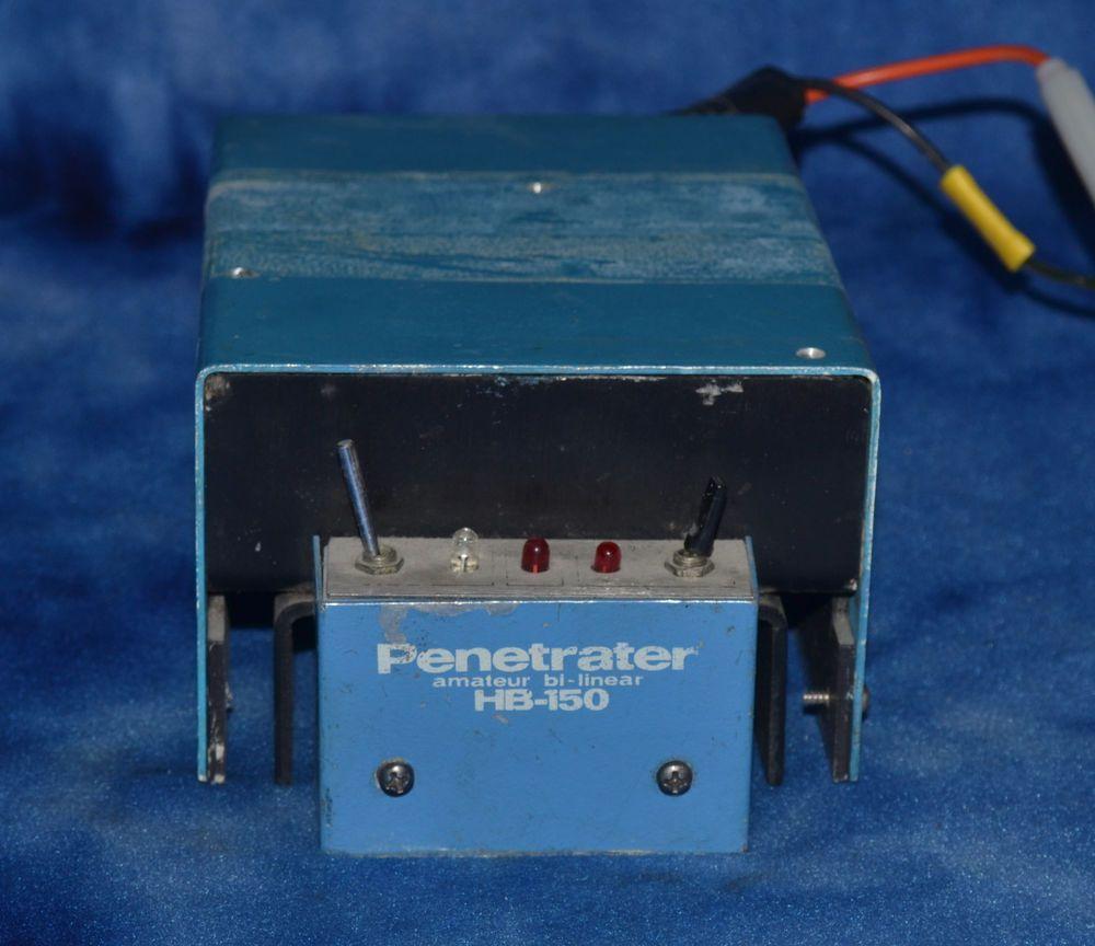 HB-150 Penetrator Bi-Linear Amp Ham radio mobile linear amplifier amp #UnbrandedGeneric