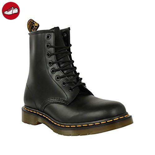 Dr Martens 1460 8 Eye Damen Stiefel Schuhe, Ankle weiches Obermaterial aus  Leder, zum