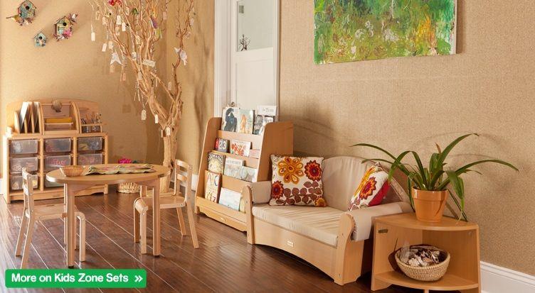 Idea for Reading Area (via Kohburg Germany Quality Childcare Furniture; http://www.kohburg.com)