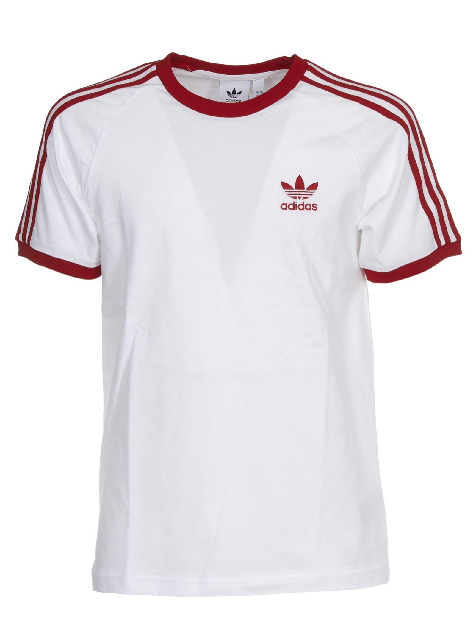 Adidas Originals Embroidered Logo T Shirt Adidasoriginals Cloth Tshirt Logo Adidas T Shirt