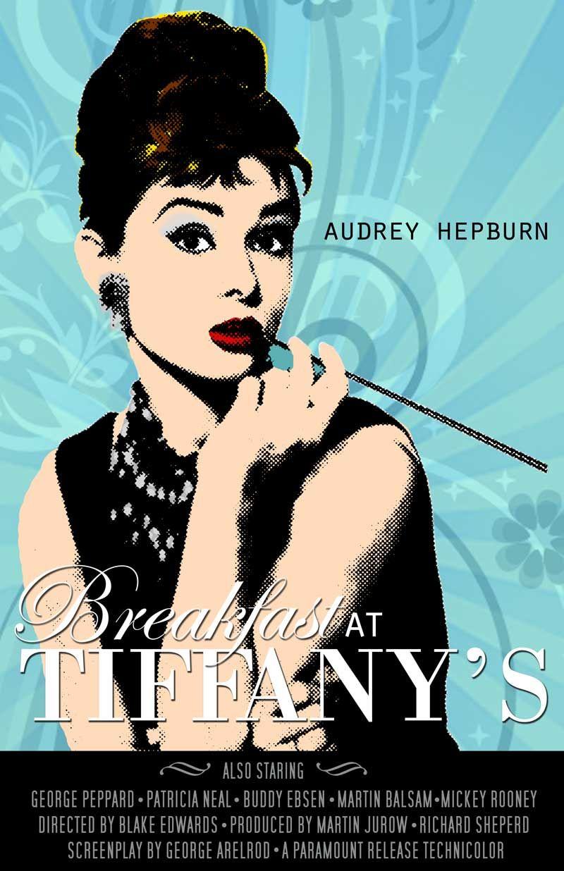 Vintage Posters Audrey Hepburn