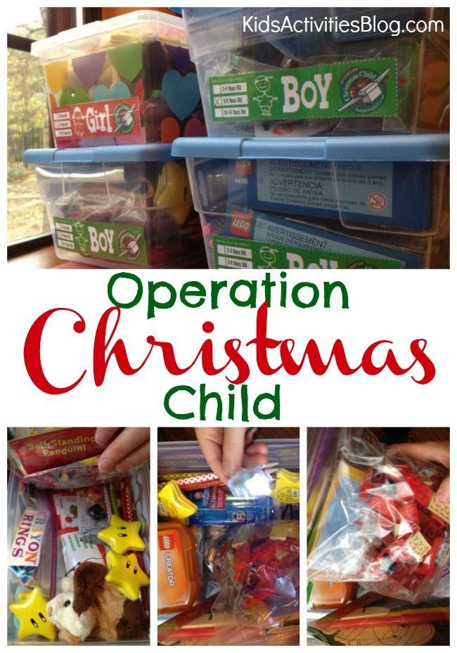 Operation Christmas Child | Pinterest