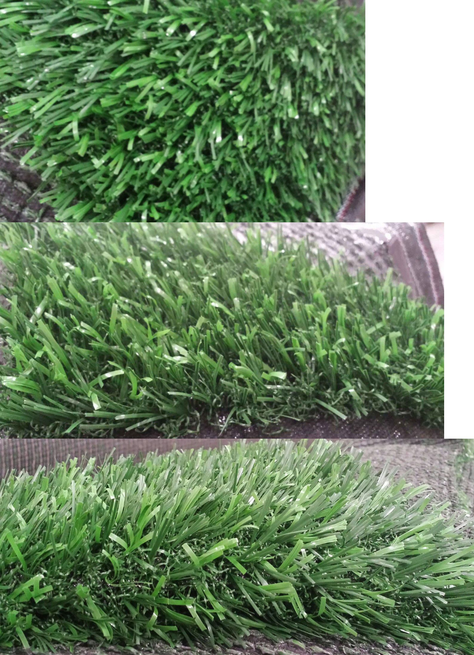 Synthetic grass end of the roll premium artificial turf
