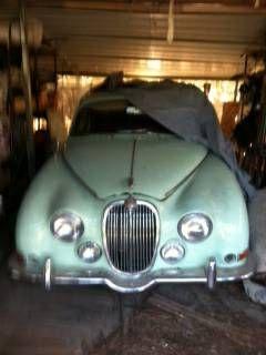 Barn Find 1966 Jaguar Mk Ii 5200 Mobile Al Forsale Craigslist