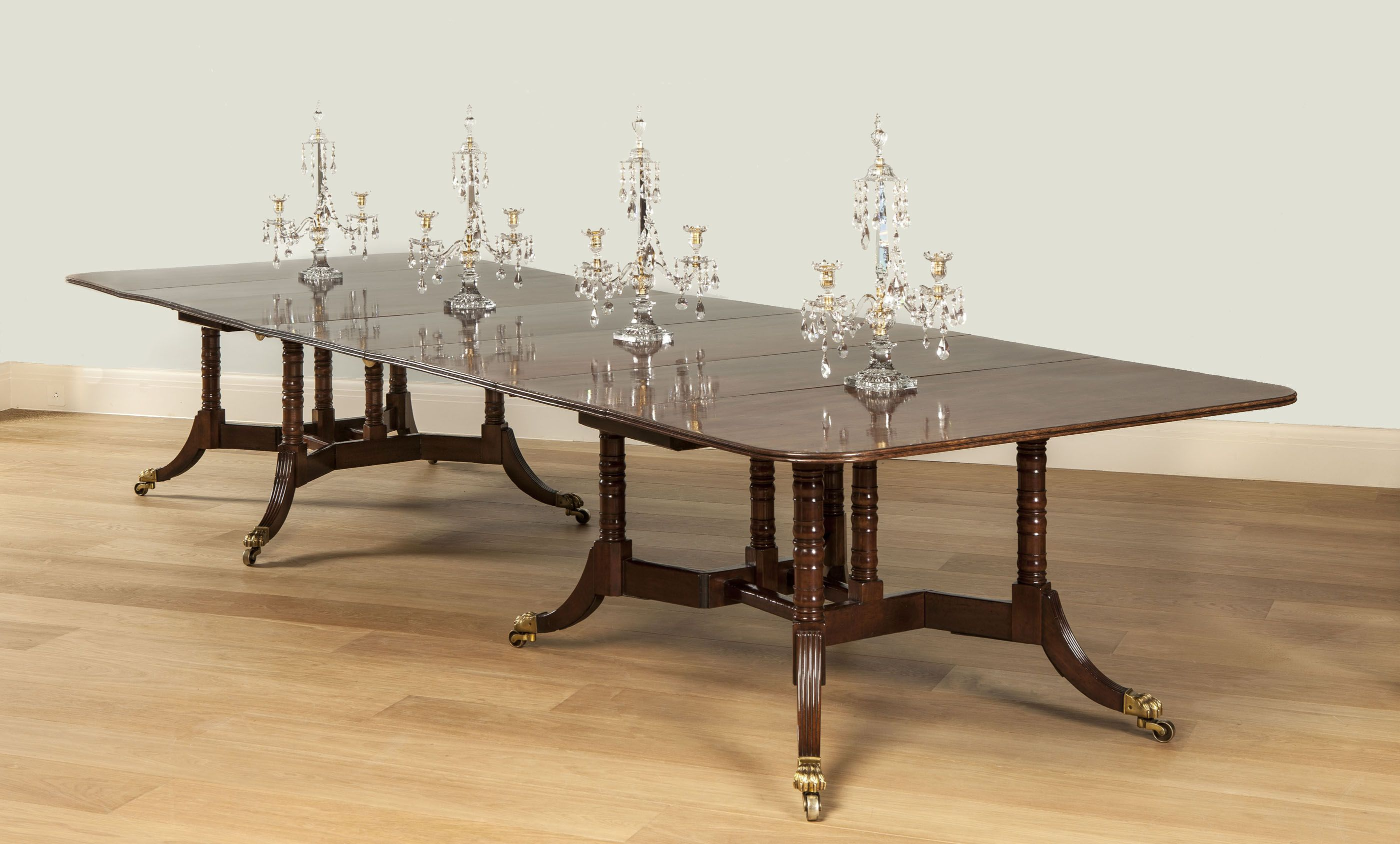 Antique wood dining tables a udouble cumberlandu antique dining table dating from about
