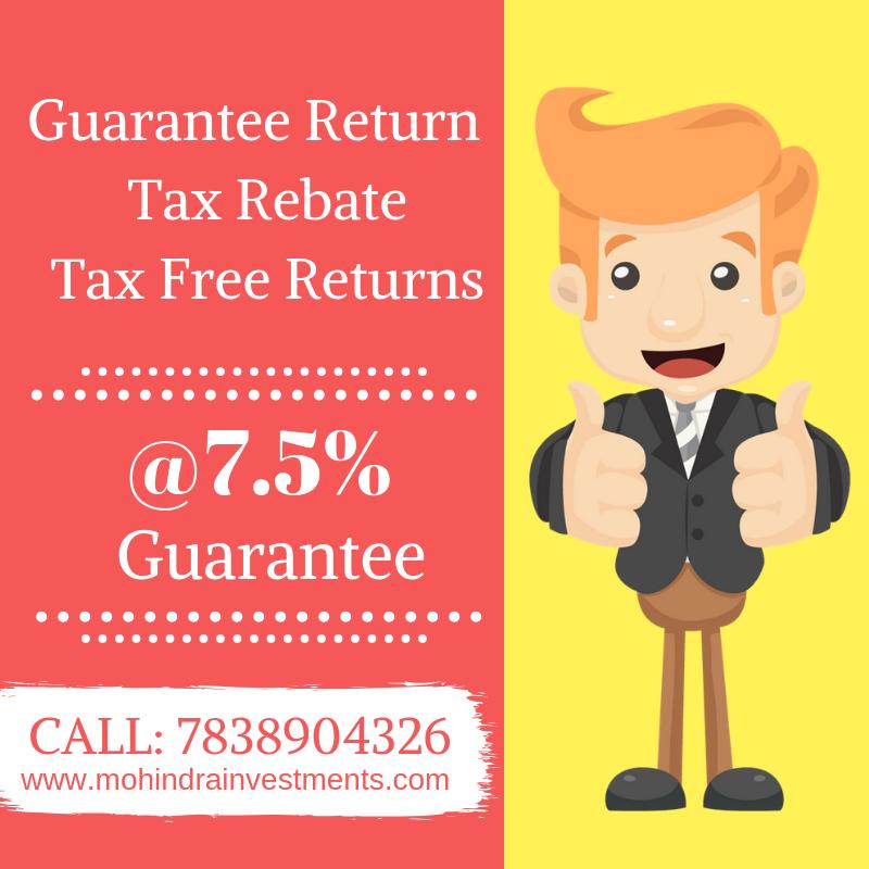 Guarantee Return Tax Rebate Tax Free Return 7 5 Guarantee Call