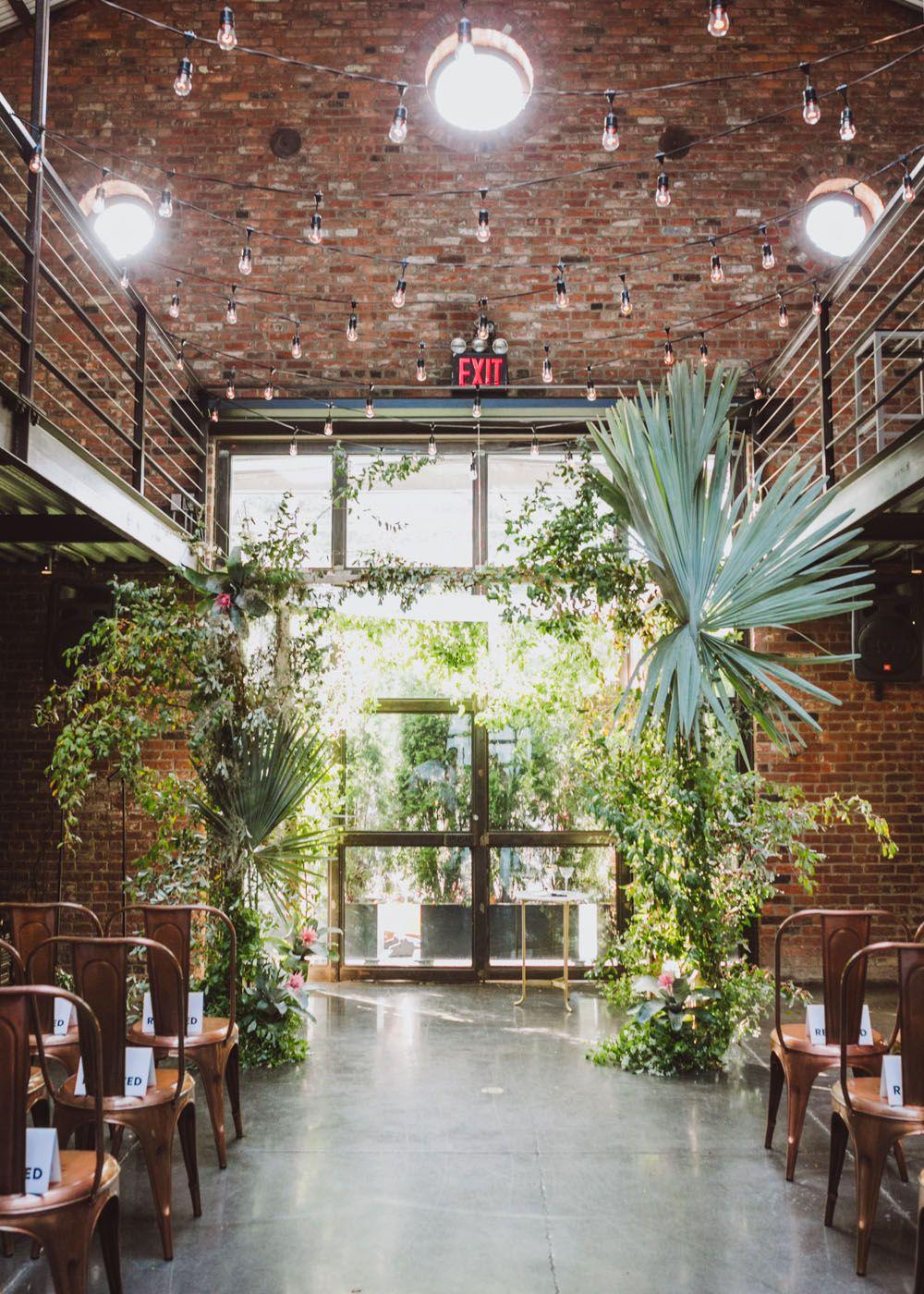 Modern New York City Wedding at The Foundry Lauren + Ben