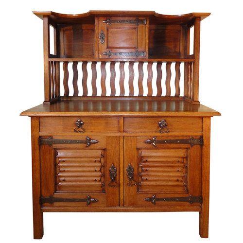 William Morris Mueble fino Golden Oak Sideboard con madera de Roble ...