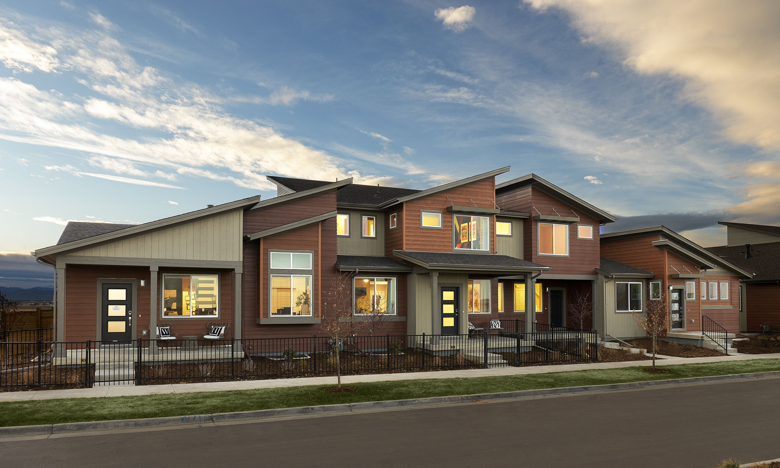 Prospect Townhomes New Townhomes For Sale In Denver Townhouse New Home Communities Home