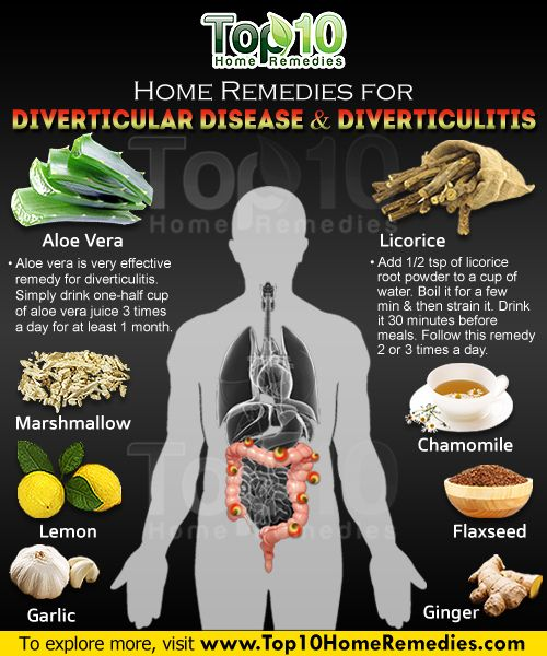 Home Remedies for Diverticular Disease and Diverticulitis ...